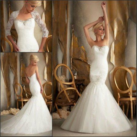 Свадебное платье Русалка трансформер