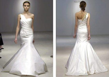 """Простое свадебное платье фасона """"Русалка"""""""