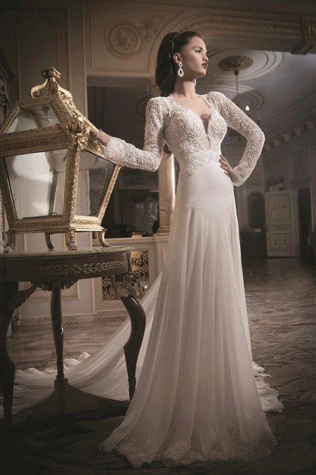 Классическое пышное свадебное платье