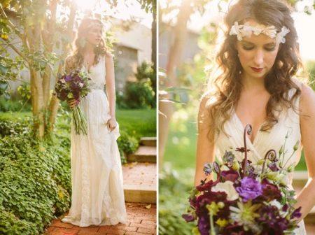 Свадебное платье невесты бохо