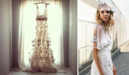 Натуральный макияж невесты в стиле бохо