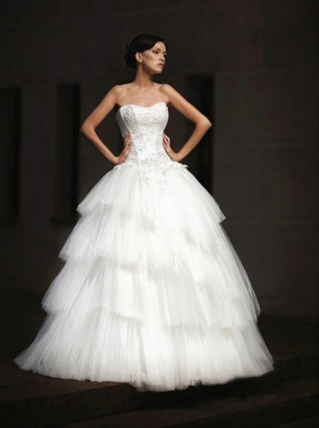 Пышное свадебное платье от Lady White