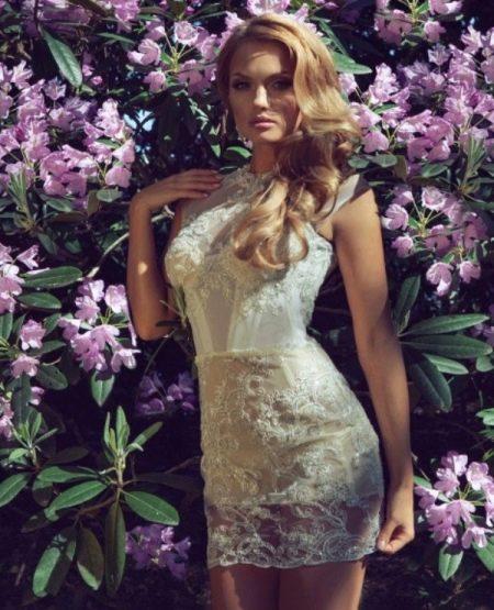 Свадебное короткое платье Ange Etoiles