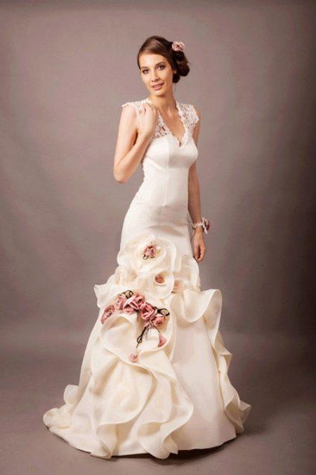 Свадебное платье от Анастасии Горбуновой
