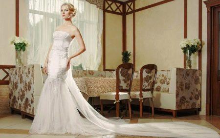 Свадебное платье открытое от Anna Delaria