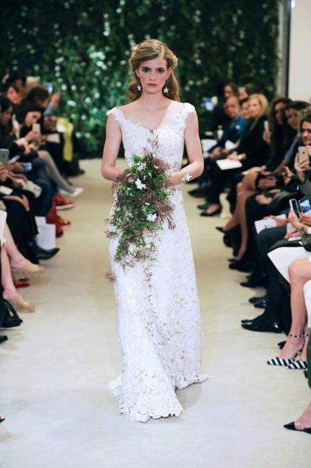 Каролина Эррера Свадебное платье