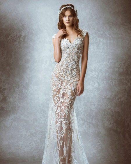 Ажурное свадебное платье от ZUHAIR MURAD