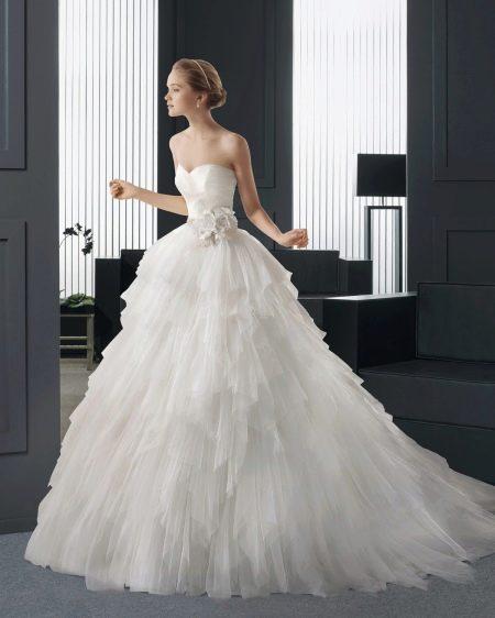 Свадебное платье А-силуэта от Rosa Clara