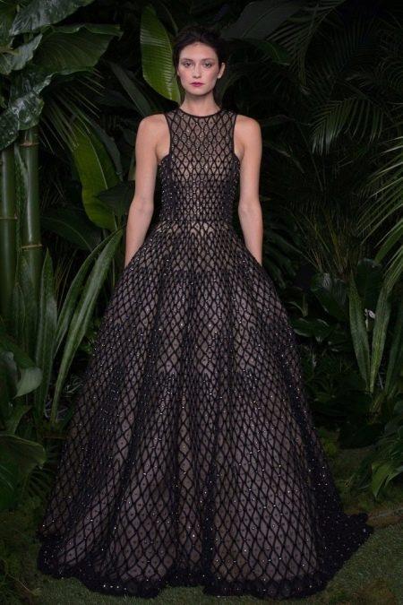 Вечернее платье черное