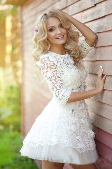 Свадебное платье беби дол
