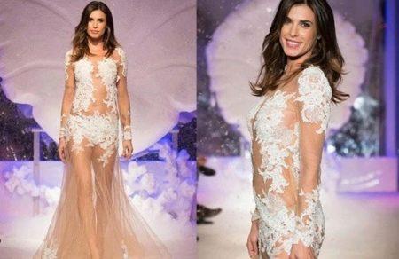 Откровенное свадебное платье Алесандро Ангелоззи