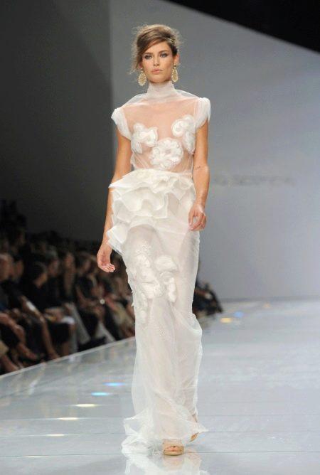 Свадебное откровенное платье от Ermanno Scervino