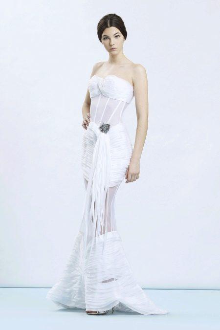 Откровенное свадебное платье от Ermanno Scervino
