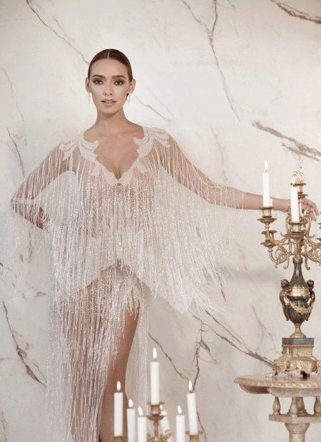 Свадебное откровенное платье Lior Charchy