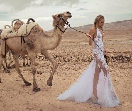 Свадебное платье откровенное от Zoog Bridal