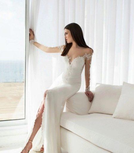 Свадебное платье прямое от Джули Вино