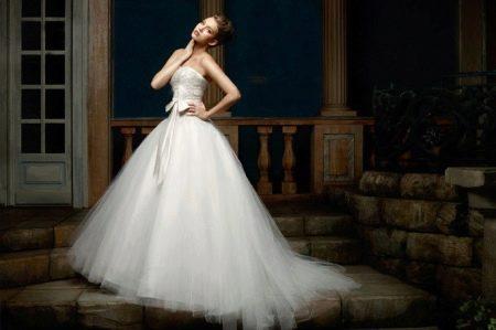 Пышное свадебное платье от Наталья Романова