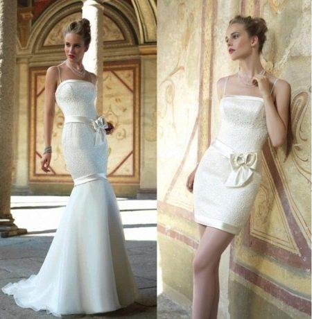 Русалка свадебное платье-трансформер