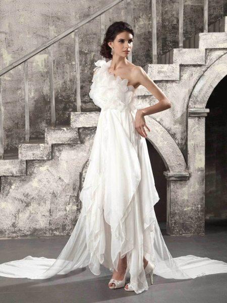 Обувь к греческому свадебному платью