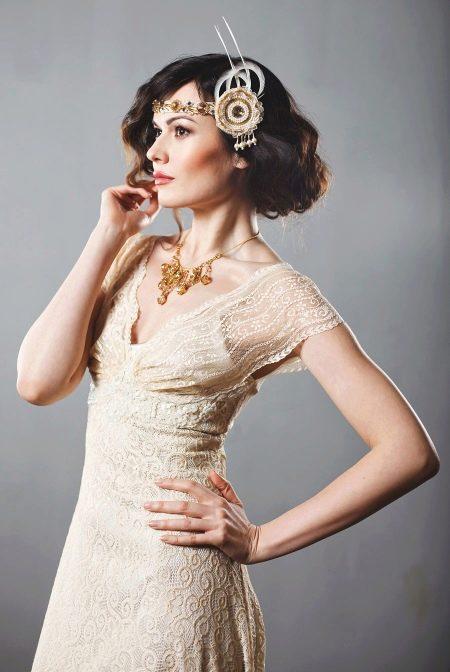 Аксессуары к свадебному платью в стиле рустик