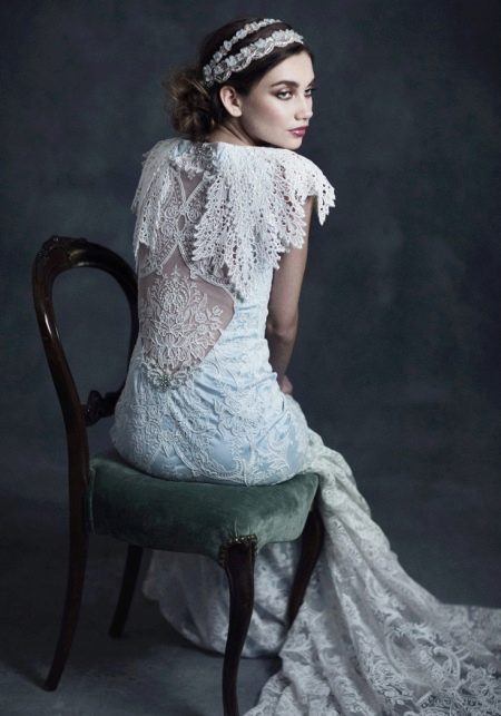 Свадебное платье от Claire Pettibone
