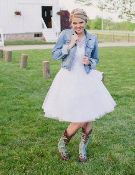 Свадебная обувь для невесты в стиле рустик