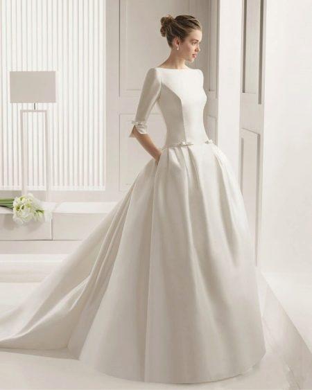 Скромное платье для венчания