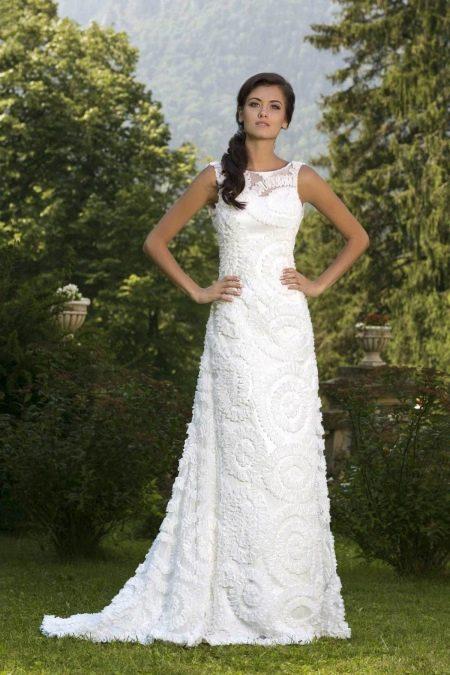 Свадебное платье от Хадаса прямое