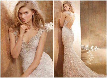 Свадебное платье русалка дорогое