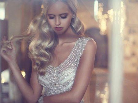 Свадебное платье от Анны Кэмпбелл