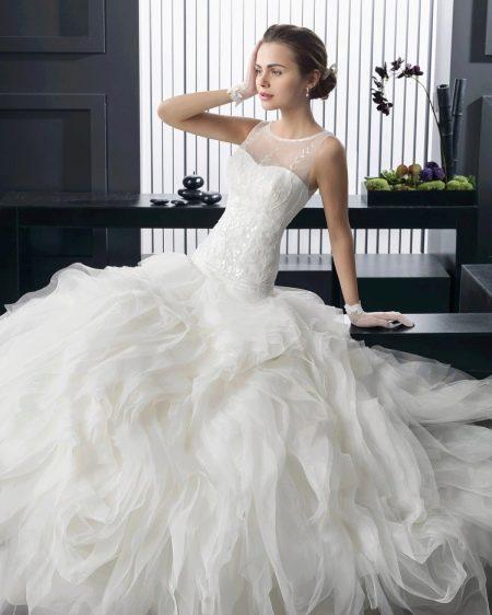 Свадебное платье пышное от Роза Клара