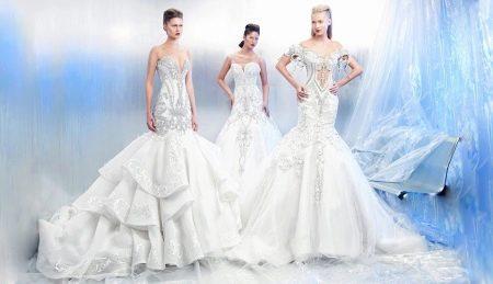 Свадебное платье от Mona Al Mansouri