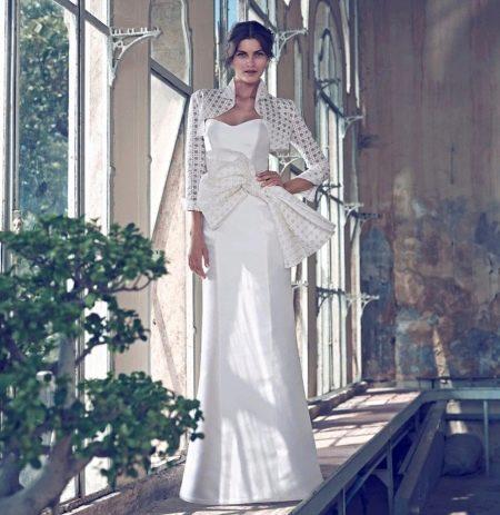 Свадебное платье от Giuseppe Papini с болеро