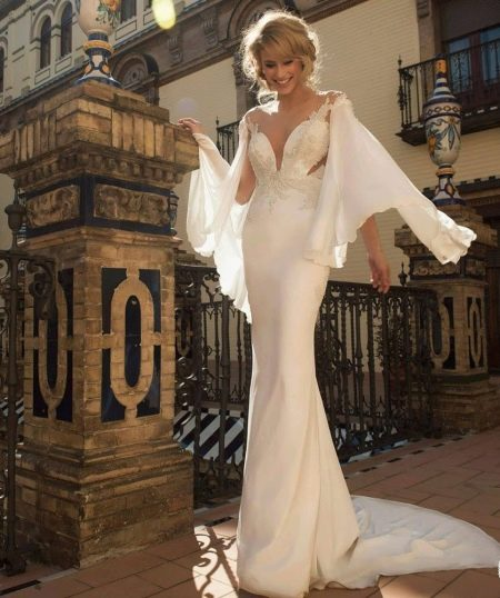 Свадебное платье с открытой спиной от Tal Kahlon