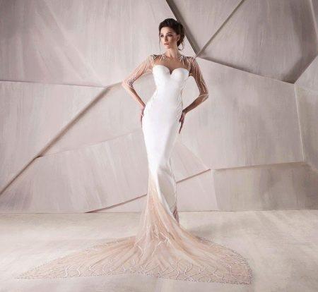 Свадебное платье для песочных часов