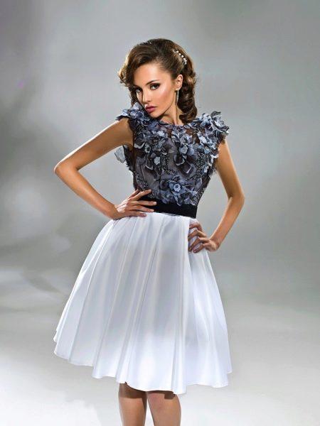 Платье с закрытыми плечами своими руками