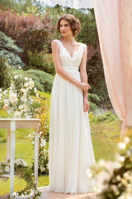 Свадебное платье в антическом стиле