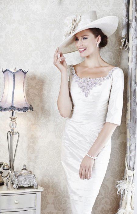 Свадебное платье для невесты после 40