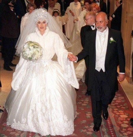 Свадебное платье Celine Dion
