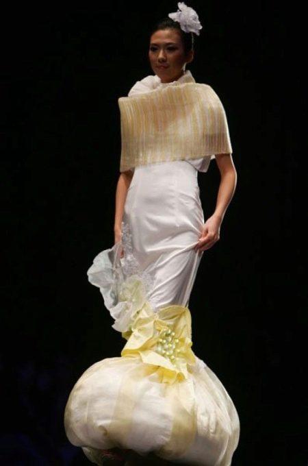 Страшное платье в виде тыквы