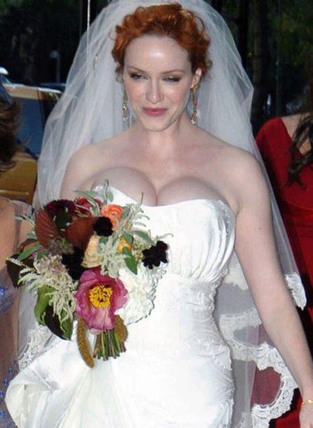 Свадебное платье Кристины Хендрикс
