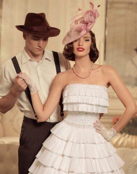 Свадебное платье в ретро стиле от Т. Каплун