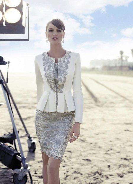 Вечернее платье для зрелых от Carla Ruiz