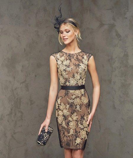 Вечернее платье от pronovias 2015