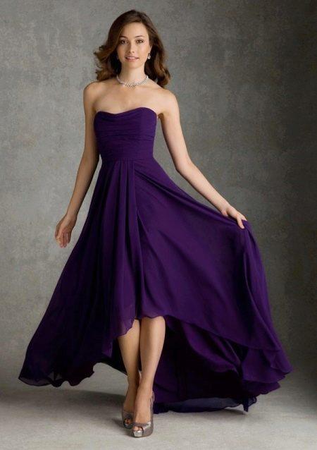 Туфли под фиолетовое вечернее платье