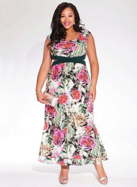 Короткое платье для полных от Igigi
