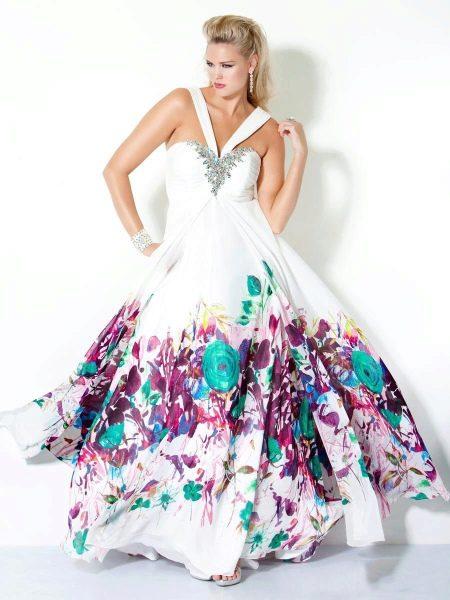 Вечернее платье Jovani Plus-Size для полных