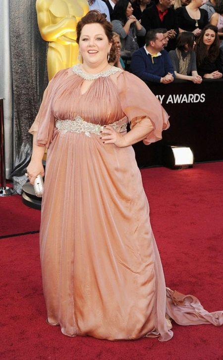 Вечернее платье звезды Мелисы Маккарти