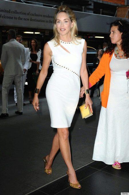 Вечернее платье белое для женщин 50 лет - Мерил Стрип