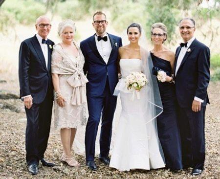Вечерние наряды мам жениха и невесты